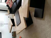 set of 3 coffee/side tables