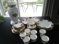 Royal Albert dishes set