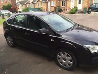 FORD FOCUS, BLACK, 82K MILES, DIESEL, MANUAL.