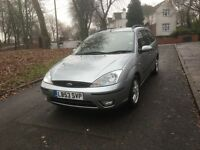 """2003 (53) FORD FOCUS ZETEC ESTATE 1.8 PETROL """"GREAT WORKHORSE + DRIVES VERY GOOD + MUST BE SEEN"""""""