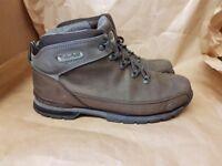 Timberland boots 8.5 dark brown