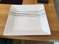 Large dinner plates