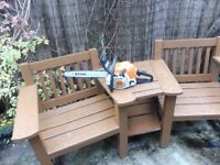 STIHL MS181 CHAINSAW WITH NEW CHAIN