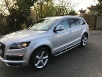 Audi Q7 S line 3.0 diesel 2008, immaculate condition.£12999,00