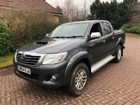 2014 year 64REG Toyota hilux icon invisible 2.5 D4D double cab pick up truck FSH 1 owner