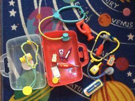 Children's play medical kit