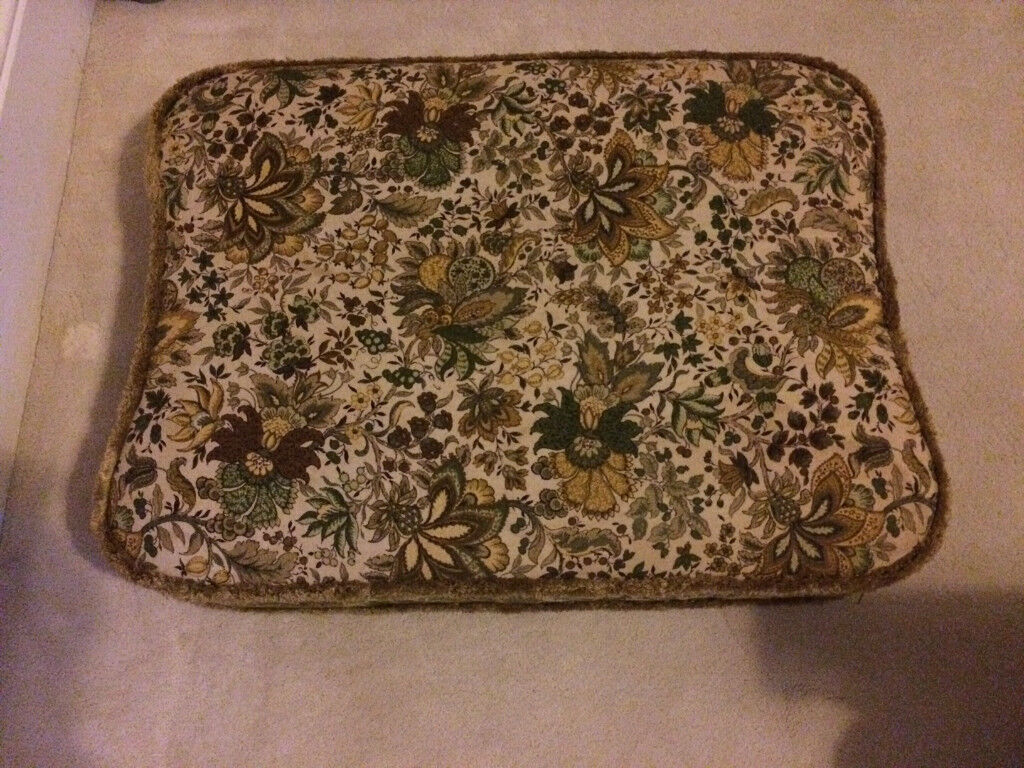 Cushion & Cover for Ercol Footstool 341