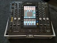 pioneer svm1000 svm 1000 audio video av mixer with swan flight case vgc