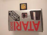 Classic Retro Atari 2600 Boxed. Hardly Used Xmas Present.