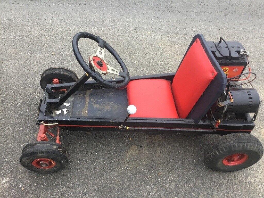 Vintage Electric Go Kart