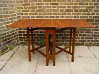 FREE DELIVERY Retro Gateleg Table Vintage mid Century Furniture