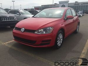 2016 Volkswagen Golf 1.8. Bluetooth, heated seats.