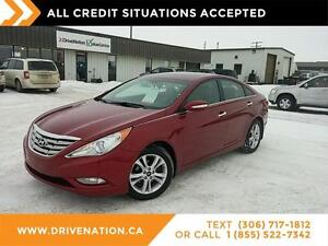 2011 Hyundai Sonata Limited..ACCIDENT FREE! Leather, sunroof.