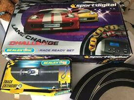 SCALEXTRIC Set with many extras