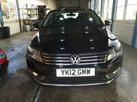 volkswagen passat tdi low mileage part exchange welcome