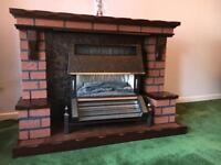 Free electric fire place
