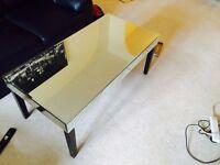 Mirror coffee table