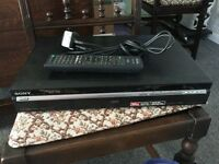 Sony DVD Recorder with remote