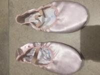 Ballet shoes satin