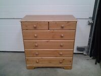 New bargain price, pine chest drawers. Can deliver.