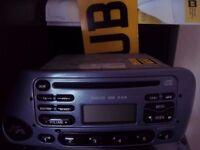 Ford KA CD Player with code
