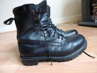 Leather boots for sale - water proof and warm - size 10