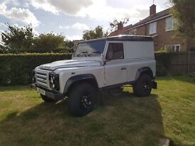 Land Rover Defender 90 X-TECH Limited Edition Hard Top............. £21000 PLUS VAT.