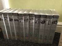 Complete collection of vhs tapes for sale to all you Laurel & Hardy fans out there