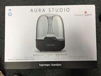 Harman kardon aura studio wireless bluetooth speaker brand new.... Amazing Sound top quality