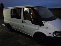 Transit van 5 seater 110,000 miles MOT until September good enguine and box