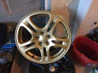 Subaru impreza alloy wheel