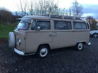 VW Early bay window camper Type 2....May take VW T25 in PX