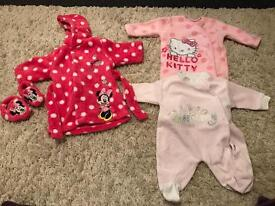 20x items of newborn/first size baby girls clothes
