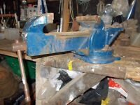 "Modern Rotating Engineers Vice - 190 cm/7.5"" jaw"