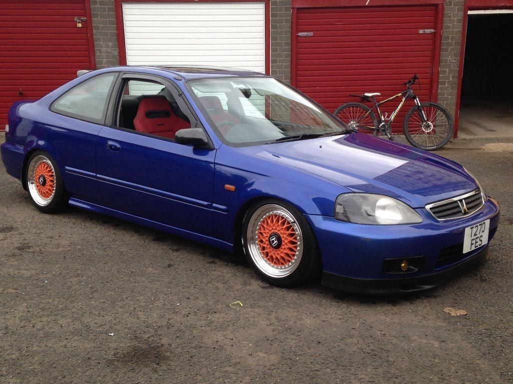honda civic coupe vti 1999 em1 1 6 b16a2 dohc vtec ebp in derby derbyshire gumtree. Black Bedroom Furniture Sets. Home Design Ideas