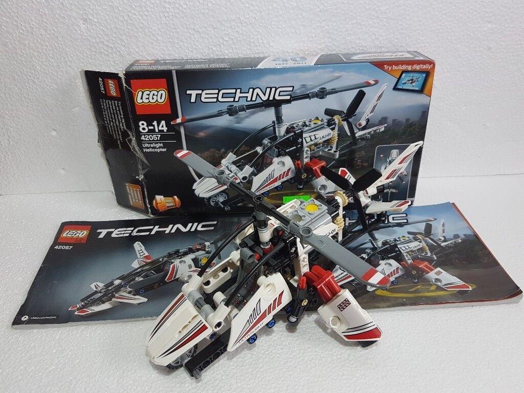 Lego Technic Ultralight Helicopter 42057 In Norwich Norfolk