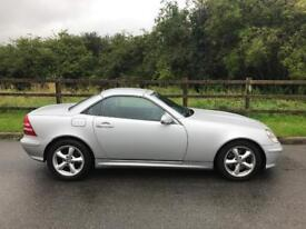 2004 MERCEDES SLK 320 - LOW MILEAGE - HPI CLEAR - GOOD CLEAN EXAMPLE