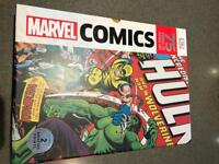 Marvel Comic 75 years of Cover Art