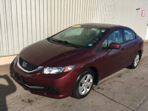2014 Honda Civic LX VERY LOW KMs, EXCELLENT ON FUEL - GREAT V...