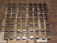star trek 22ct gold card collection full set