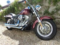Harley Davidson FXST 2002 with FSH & MOT - Fabulous condition and priced to sell