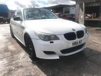 BMW 530I M5 REPLICA WHITE PETROL LONG MOT 2999CC 231BHP NATIONWIDE DELIVERY ***BARGAIN***