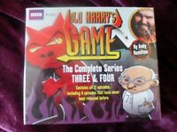 OLD HARRY'S AUDIO GAME. BRAND NEW. COMPLETE 3&4 SERIES. UNUSED.