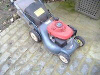 "Honda Izzy 16"" wheel driven rotary mower"