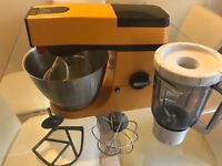 Orange vintage kenwood food mixer