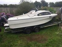 Shetland 536 Boat and Trailer + Yamaha Outboard