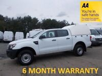 Ford Ranger 2.2 TDCi 150 XL 4WD Crew Cab***DIRECT from LEASE Co***