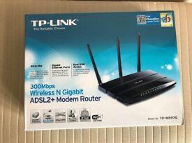 TP-LINK , ADSL2+ Modem Router - unused