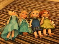 Set of frozen dolls