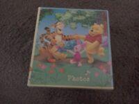 Set of 3 baby Winne de Pooh baby photo albums £4